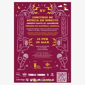 XV Concurso de música en directo de Gijón 2017