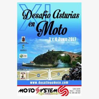XI Desafío Asturias en Moto 2017