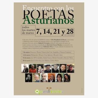 Encuentro con los poetas asturianos 2017