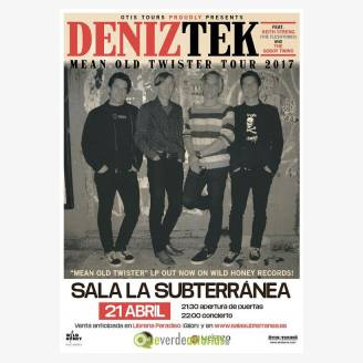 Denik Tek en concierto en Gijón