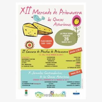 XII Mercado de primavera: Los Quesos Asturianos - Pola de Siero 2017