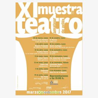 XI Muestra de Teatro Amateur de Avilés 2017 - ¿Adoptamos?