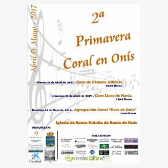 II Primavera Coral en Onís 2017 - Actuación de la Agrupación Coral Ecos de Onís
