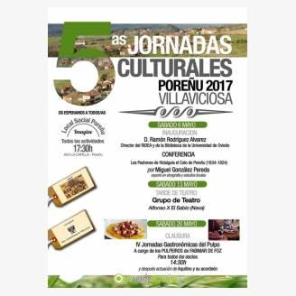 V Jornadas Culturales Poreñu - Villaviciosa 2017