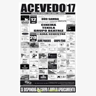 Fiestas de San Isidro Labrador Acevedo 2017 - I Gira Euestre