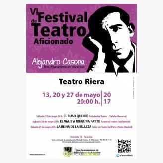 VI Festival de Teatro Aficionado Alejandro Casona - Villaviciosa 2017