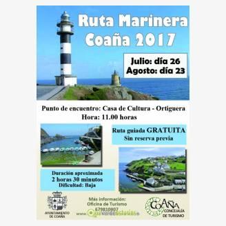 Ruta Marinera Coaña 2017