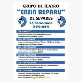Actuación del Grupo de Teatro Carbayín de Carbayín (Siero)
