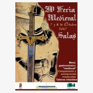 IV Feria Medieval Salas 2017