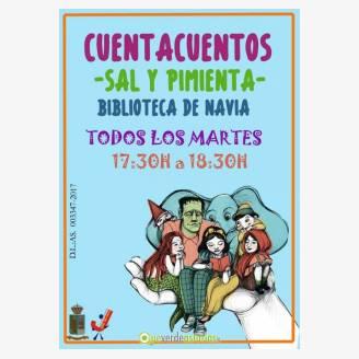 """Cuentacuentos """"Sal y Pimienta"""" en Navia"""