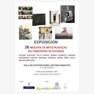 Exposición: 26 Muestra de Artes Plásticas del Principado de Asturias