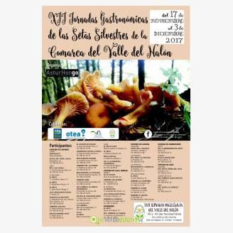 XII Jornadas Gastronómicas de las Setas Silvestres de la Comarca del Valle del Nalón 2017