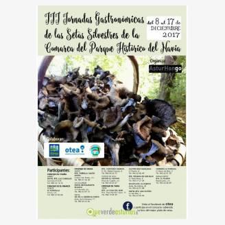 III Jornadas Gastronómicas de las Setas Silvestres de la Comarca del Parque Histórico del Navia 2017