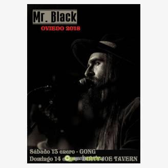 Mr. Black en concierto en Dirty Joe Tavern