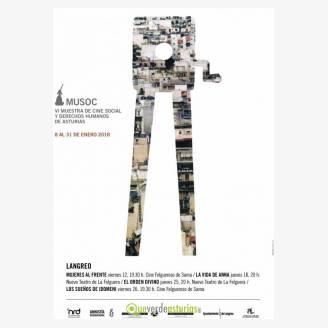 VI Muestra de Cine Social Social y Derechos Humanos de Asturias (MUSOC 2018) en Langreo