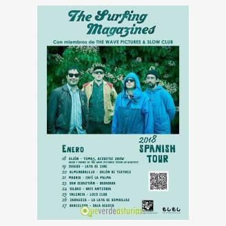 The Surfing Magazines en concierto en la Lata de Zinc
