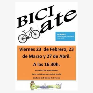 "Ruta en bicicleta ""Bici-ate"""