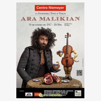 Ara Maliakian en concierto en Avilés - The Incredible Tour of Violin