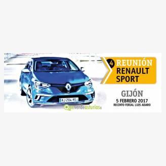 4ª Reunión Renault Sport - Gijón 2017