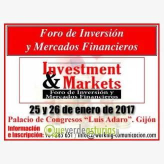 Investment&markets -  Foro de Inversión y Mercados Financieros 2016