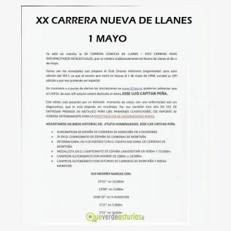 XX Carrera Nueva de Llanes 2017