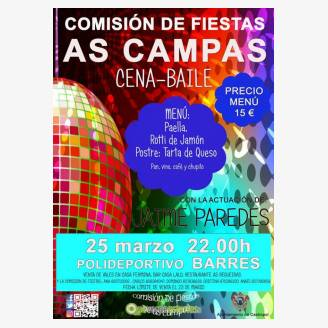 Cena-baile Comisión de fiestas As Campas