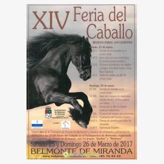 XIV Feria del Caballo 2017 en Belmonte de Miranda