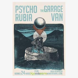 Psycho Rubia + The Garage Van en la Sala Acapulco