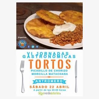 VI Jornadas Gastronómicas de los Tortos con Picadillo en Antromero 2017