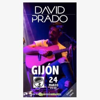 David Prado en concierto en Gijón
