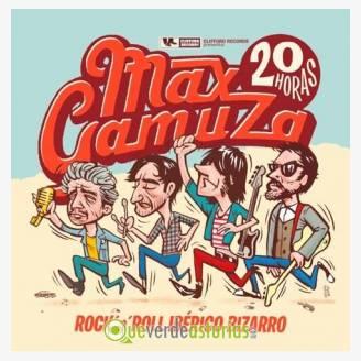 Max Gamuza en concierto en Avilés