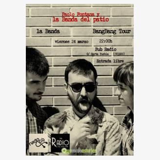 Paolo Fontana & La Banda del Patio en concierto