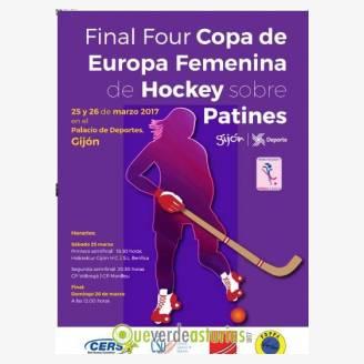 Fase Final de la Copa de Europa Femenina de Clubes 2017 de hockey patines