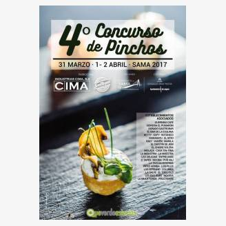 IV Concurso de Pinchos Sama de Langreo 2017