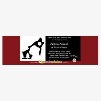 Presentación del libro: Aullido Animal