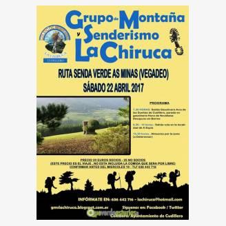 Ruta Senda Verde As Minas con el Grupo de Montaña y Senderismo La Chiruca