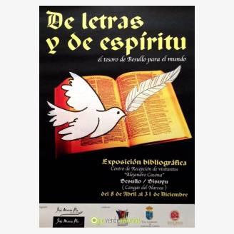 Exposición bibliográfica: De letras y de espíritu