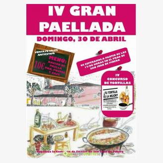 IV Gran Paellada 2017 en San Juan de Piñera - IV Concurso de Tortillas