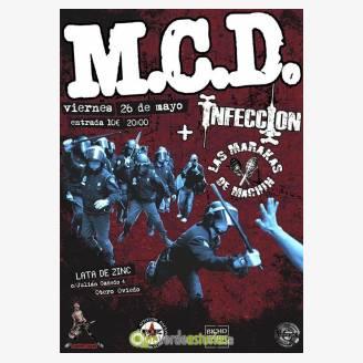 M.C.D. + Infeccion + Las Marakas de Machín en la Lata de Zinc