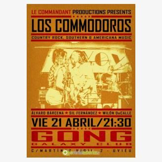 Los Commodoros en concierto en Gong