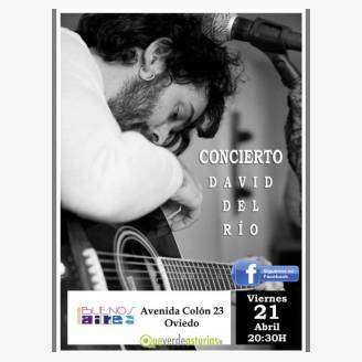 David del Río en concierto en Cervecería Buenos Aires