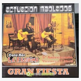 Mbolados en concierto en Bar La Esquina