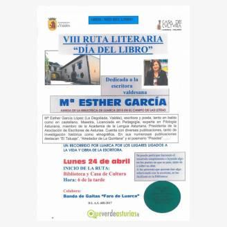 VIII Ruta literiaria Día del Libro 2017 en Luarca