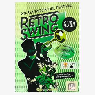 Presentación del Festival Retro Swing Gijón 2017