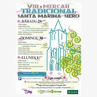 VIII Mercado Tradicional Santa Marina - Siero 2017