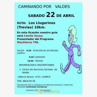 Caminando por Valdés - Ruta Los Llugarinos