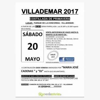 Fiesta - Costillada de primavera Villademar 2017