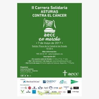 Ii Carrera Solidaria Asturias Contra El Cáncer 2017 Atletismo En Oviedo Uviéu Asturias