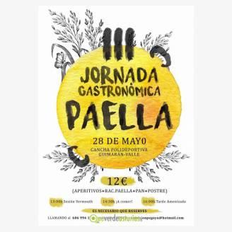 III Jornada Gastronómica de la Paella Guimarán - El Valle 2017