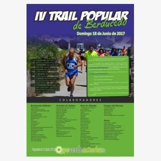 IV Trail Popular de Berducedo 2017